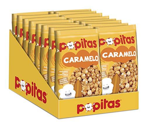Popitas   Palomitas Listas para Comer Caramelo 100g   Caja 16u.
