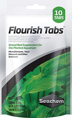 Seachem Flourish Tabs Growth Supplement - Aquatic Plant Stimulant 10 ct