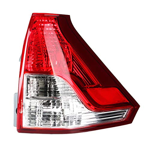 YONGYAO Freno de la luz Trasera del vehículo Lámpara Rojo Izquierdo/Derecho para Honda CRV 2012-2014 (No es Original)-Derecha