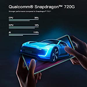 "Xiaomi Redmi Note 9 Pro Teléfono 6GB RAM+128GB ROM, 6,67"" Pantalla Completa, Procesador Snapdragon 720G Octa-Core, 16MP Frontal y 64MP + 8MP + 5MP + 2MP AI Quad Cámara Trasera (Verde)"