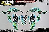 Kit DE Adhesivos Mate Yamaha Raptor 660 Pegatinas ADESIVY Stickers