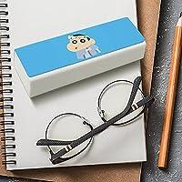 クレヨンしんちゃん 野原新之助 メガネケース レザー 眼鏡入れ マルチケース 眼鏡ケース EVISUK おしゃれ 軽量 収納保護 コンパクト おしゃれ キャラクター かわいい 大きいサイズ めがねケース