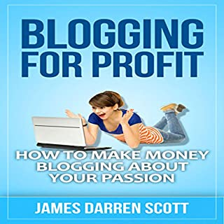Blogging for Profit audiobook cover art