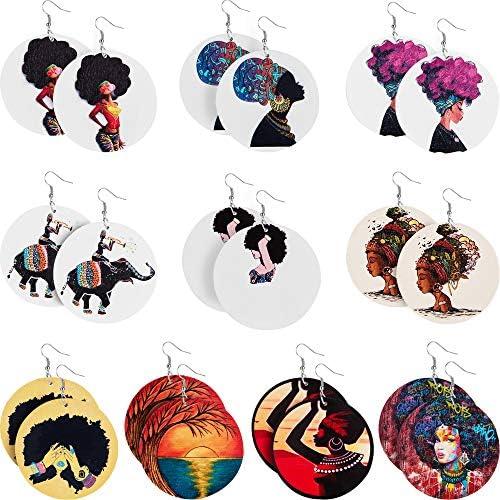 Afro earrings _image0
