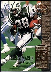Football NFL 1999 Upper Deck Century Legends #85 Curtis Martin NY Jets