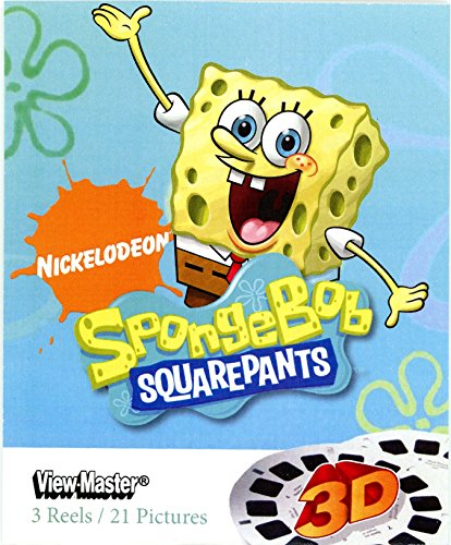 Spongebob Squarepants 3d–ViewMaster 3Reel Set by View Master