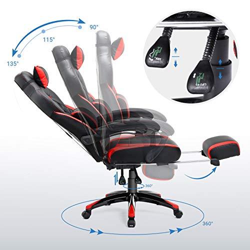 SONGMICS Gamingstuhl Bürostuhl Bild 5*