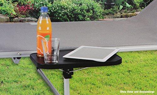 Neuheit: TABLETT SEITENTISCH für Sonnenliege Ablage Tisch Hängetisch ~cf895