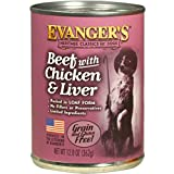 Evanger's Heritage Classics Beef with Chicken & Liver for Dogs - 12, 12.5 oz Cans