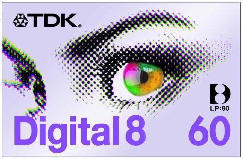 TDK D 8-60 EB Digital8-Kassette