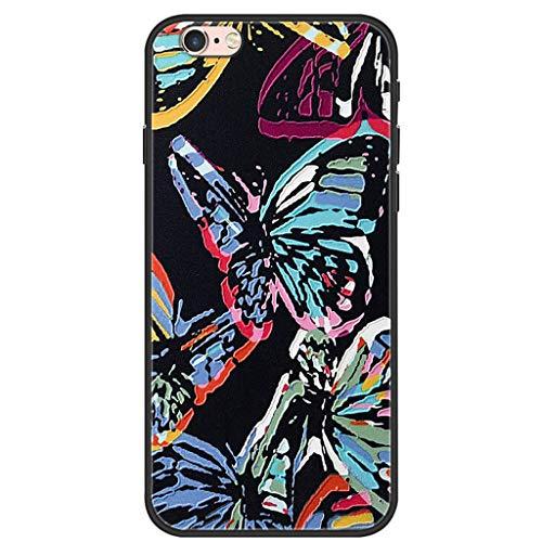 LTao-case smpd per Apple iPhone 6 Plus Custodia PTU per Cellulare in Silicone Morbido 7