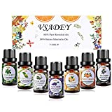 VSADEY Essential Oils Set 100% Pure Aromatherapy Essential Oil Kit for Diffuser, Humidifier,...