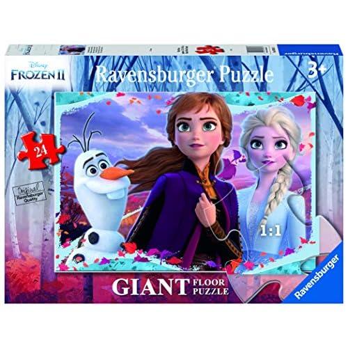 Ravensburger- Frozen 2 B Puzzle 24 Giant Pavimento, Multicolore, 03036
