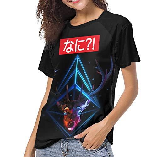 Actuallyhome Besondere Nani Gedruckte Damen Baseball Uniform T-Shirt Erwachsene T-Shirt Sport Wear Trikots