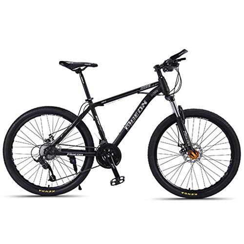 Bicicleta de montaña Mountainbike Bicicleta Bicicletas De Montaña De 26' Pulgadas MTB 24/27 Velocidad Ultra Ligero De Carbono Marco De Acero Suspensión Delantera Freno De Disco Bicicleta De Montaña Mo