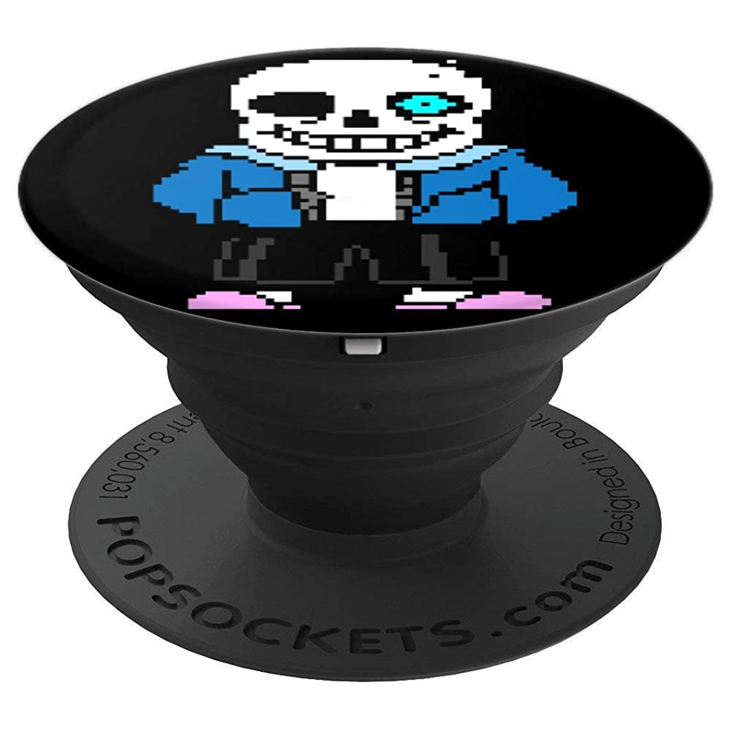 SANS SKELETON, PIXEL, GRIP - PopSockets Grip and Stand for Phones and Tablets