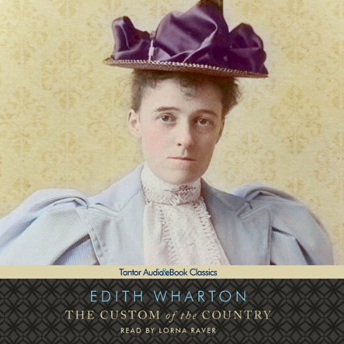 The Custom of the Country audiobook cover art