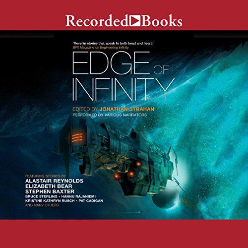 Edge of Infinity audiobook cover art