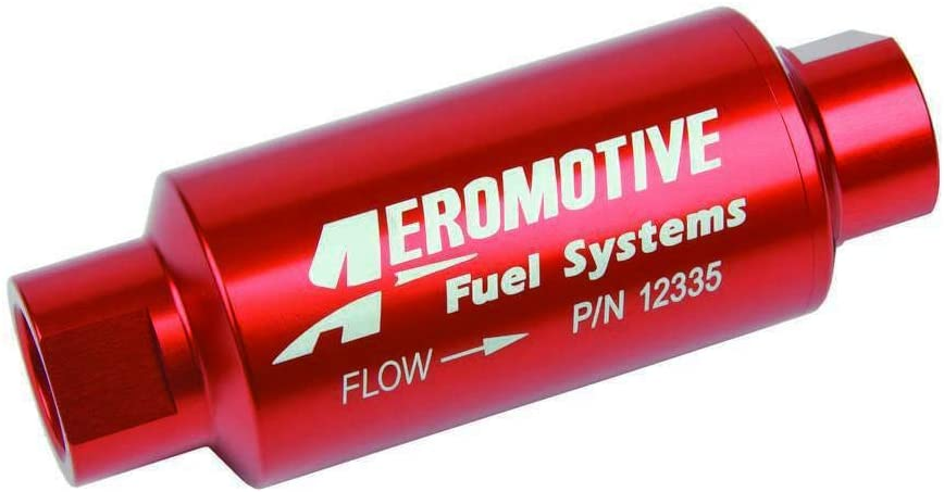 security Aeromotive Fixed price for sale 12335 Filter In-Line Stainless Mesh Eleme 40-Micron