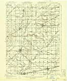 YellowMaps Alvordton OH topo map, 1:62500 Scale, 15 X 15 Minute, Historical, 1913, Updated 1941, 20 x 16.5 in - Paper