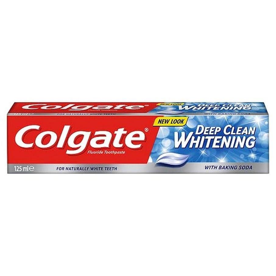 つかの間ポータル広大な[Colgate ] コルゲート深いクリーンホワイトニング歯磨き粉の125ミリリットル - Colgate Deep Clean Whitening Toothpaste 125Ml [並行輸入品]