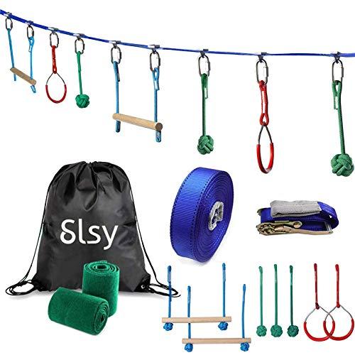 Slsy Ninja Obstacle Warrior Course Monkey Bar Kit