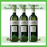 3x Verde Ca' Ruptae, Verdicchio dei Castelli di Jesi Classico Superiore doc, 0,75 l. Cantina Moncaro, Marche