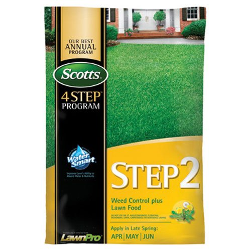 Scotts 34160 LawnPro Step 2 Weed Control Plus Lawn Food, 28-0-3, 43.92-Pound