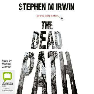 The Dead Path audiobook cover art