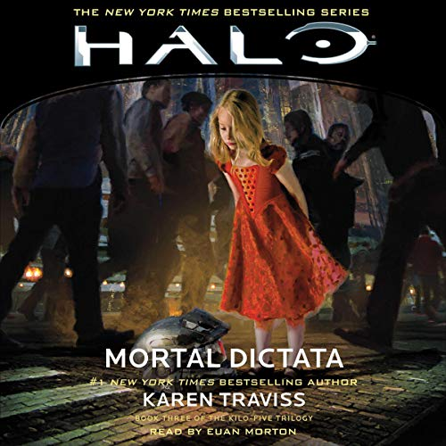HALO: Mortal Dictata     HALO, Book 12              By:                                                                                                                                 Karen Traviss                               Narrated by:                                                                                                                                 Euan Morton                      Length: 16 hrs and 56 mins     39 ratings     Overall 4.8