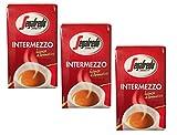 Café Moulu Intermezzo Segafredo les 3 paquets de 250 g