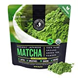 Jade Leaf Matcha Green Tea Powder - Organic, Authentic Japanese Origin - Culinary Grade - Premium...