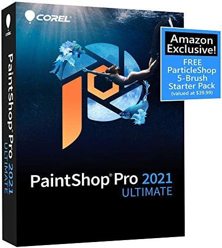Corel PaintShop Pro 2021 Ultimate Photo Editing Graphic Design Software Plus Creative Collection product image