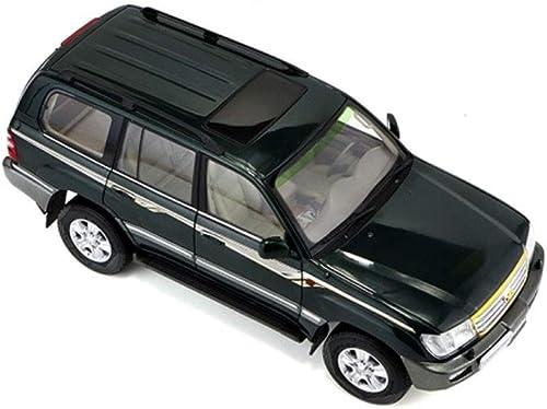 al precio mas bajo AGWa Modelo a escala Vehículo de de de simulación 1 18 Modelo de coche de simulación de tierra Aleación Toyota Modelo de coche Colección de decoración para adultos  Felices compras