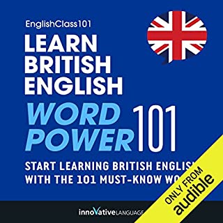 Learn British English: Word Power 101 cover art