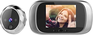 OWSOO Door Viewer Camera,Smart Door Viewer,Doorbell Viewer,Video Doorbell,2.8-inch LCD Screen Digital Peephole Viewer,Door Ca