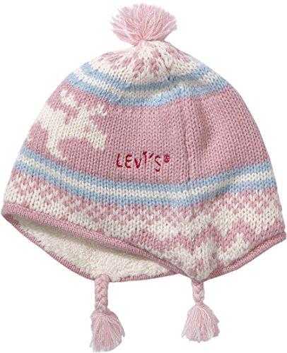 Levi'S Kids Baby - Mädchen Mütze Ne90504, Gr. 80 (Herstellergröße: T3), Rosa...