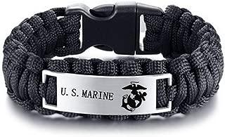 us marine paracord bracelet