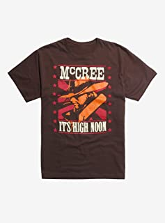 Overwatch McCree High Noon T-Shirt Brown