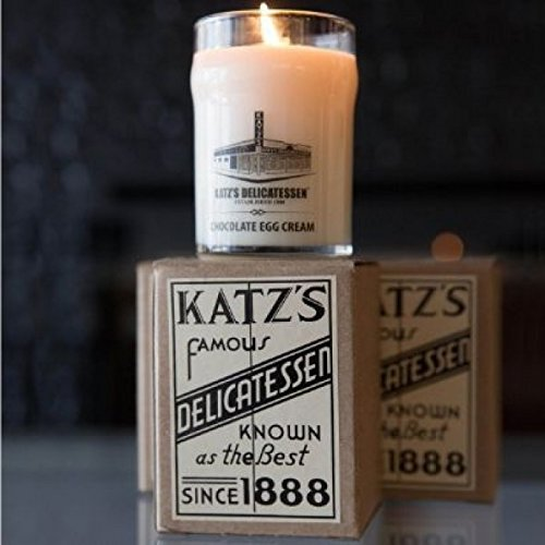 Katz's Deli Chocolate Egg Cream Scented Candle