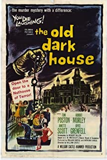 "The Old Dark House Vintage Movie Poster 10/"" X 7/"" Reproduction Metal Sign I132"
