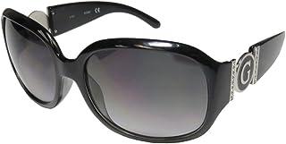 GUESS Factory Women's Cutout Logo Plastic Sunglasses
