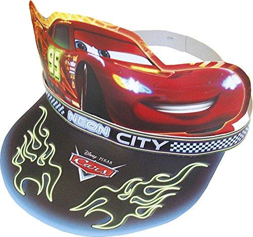 Disney Unique Party 71727 – Lot de 6 chapeaux de fête Cars fluo