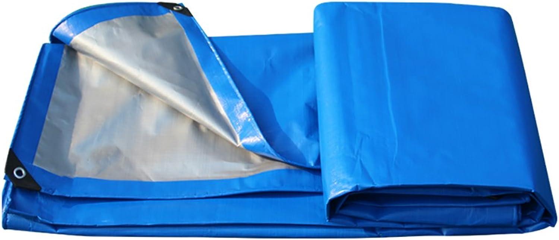 Zeltplanen Verdicken Sie Isolierung Blaues Silber-Doppelfarben-Regenschutztuch-wasserdichter Sunscreen-Planen-Überdachungs-Stoff-Plastikstoff-LKW-Plane B07DCHGRRG  Gesunder Rhythmus