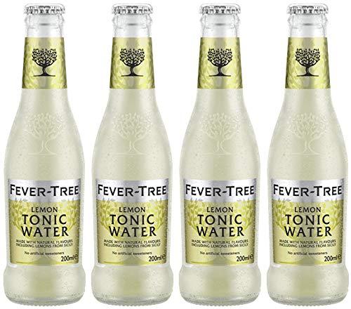 Fever Tree Lemon Tonic Water 4 x 0,2 Liter