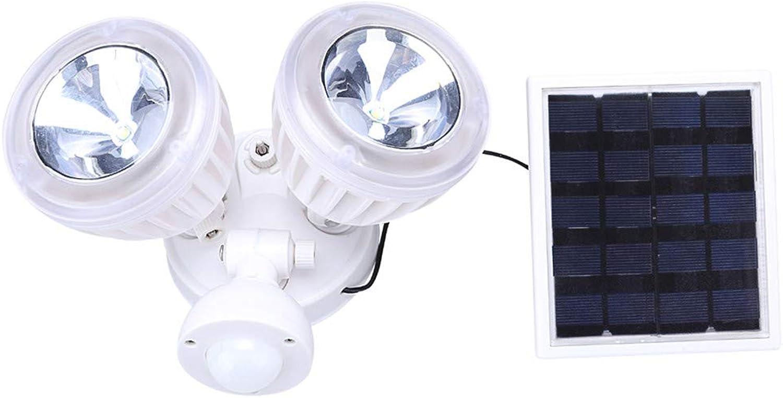 Solarlicht, Webla, Dualer Sicherheitsdetektor 22-Led-Bewegungssensor Solarlicht-Punktlichtsensor Auenbereich, Weie Bauchmuskeln