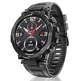 HopoFit Relojes Inteligente Hombre y Mujer,Smartwatch con Pulsómetro,Presión Arterial,...