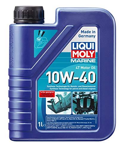 LIQUI MOLY 25012 Bootsmotoröl Marine 4T 10W-40, 1 L
