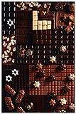 Poster Gourmet Chocolate - Schokolade (Kakao Süßigkeit