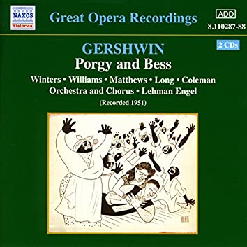 Gershwin: Porgy and Bess (Winters, Williams, Long) (1951)